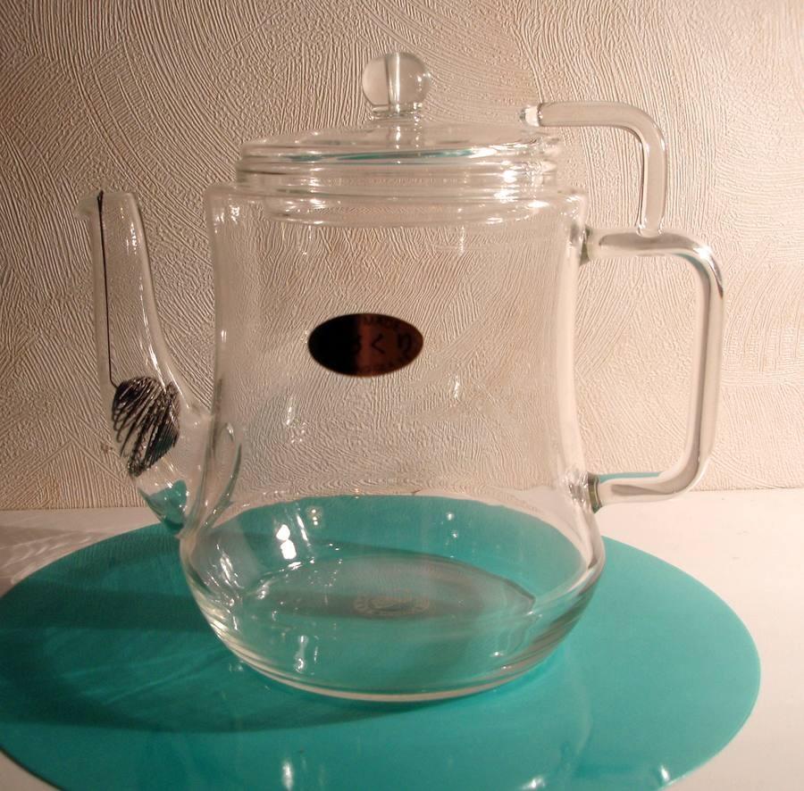 Skleněná konvička 'Tea Art I,' 0,45l