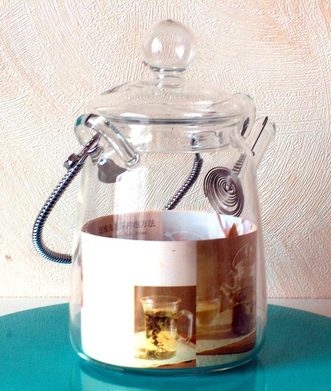 Skleněná konvička 'Tea Art', 0,36l