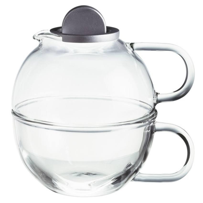 Skleněná konvička Randwyck 'Čaj pro jednoho' 0,65l,