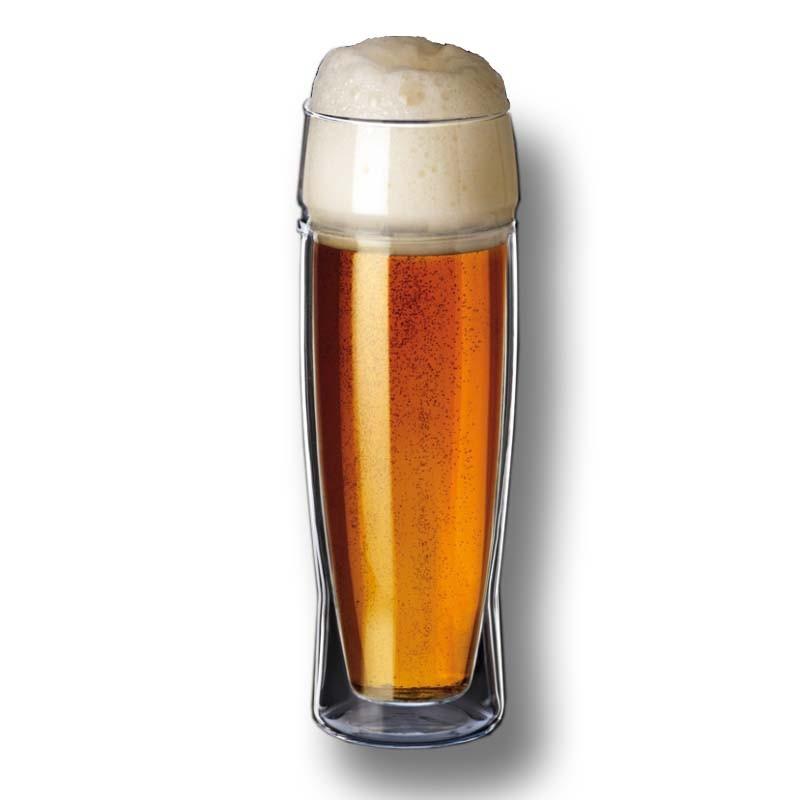 Sklenice na pivo 0,5 l. Simax - dvoupášťová