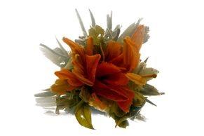 Tea Art - Kvetoucí čínský čaj - 'Motýl a lilie'