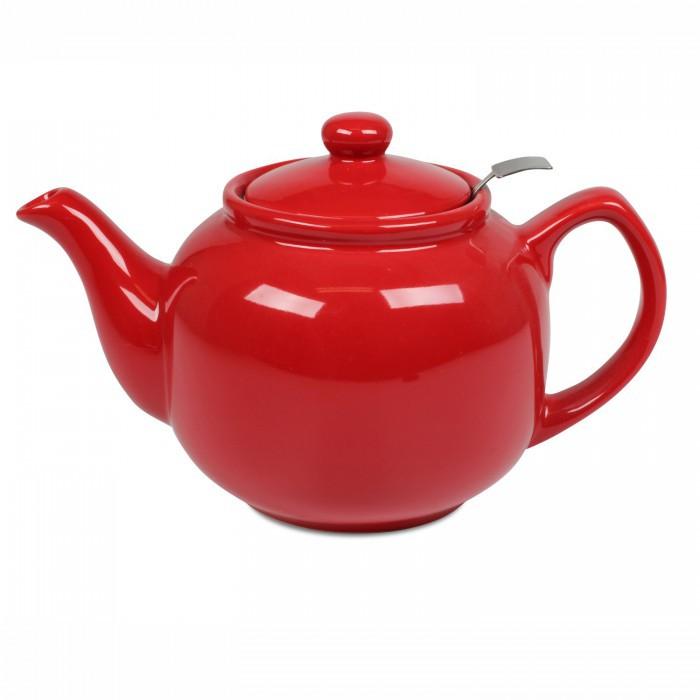 Porcelánová konvice Shamila 1,2l. Love - červená