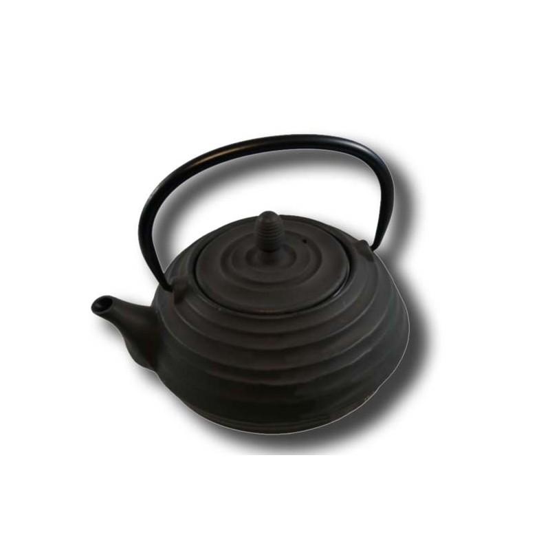 Litinová konvice 'Xian' - 0,8l Černá
