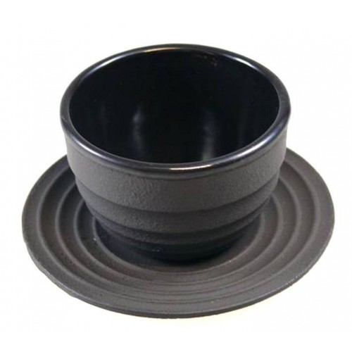 Litinový šálek a podšálek na čaj - 'Xian'. 100 ml