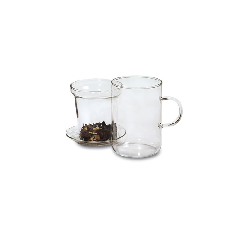 Skleněný šálek 0,25l. Skleněný filtr