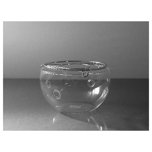Ohřívač konvice Trendglas 'PRETTY TEA', Skleněný pr. 10 cm