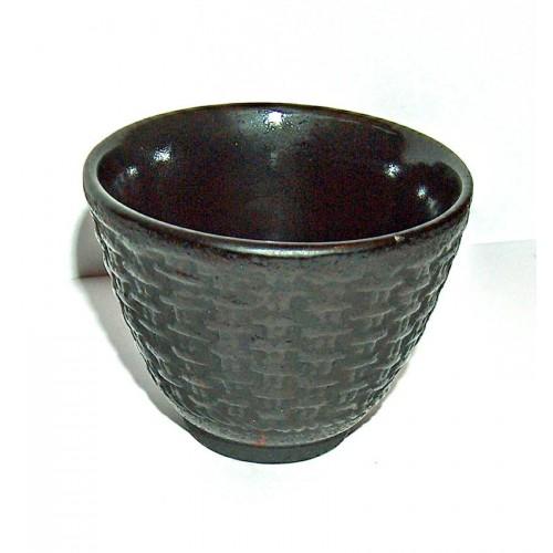 Litinový šálek na čaj 100 ml. 'Košík'
