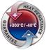 Garance použití při teplotě od -40°C do +300°C